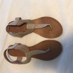 Steve Madden Sparkly Sandals